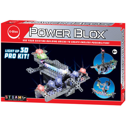 Power Blox Pro LED Building Blocks Set - E-Blox