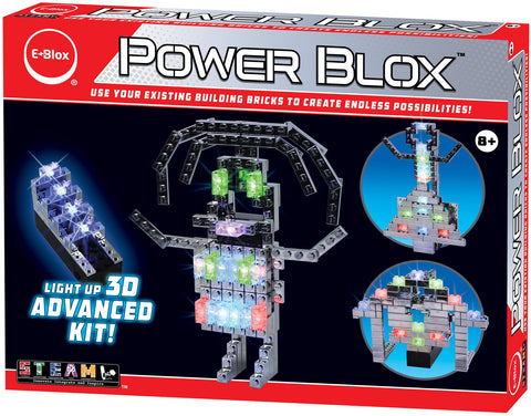 Power Blox Advanced LED Building Blocks Set - E-Blox - E-Blox