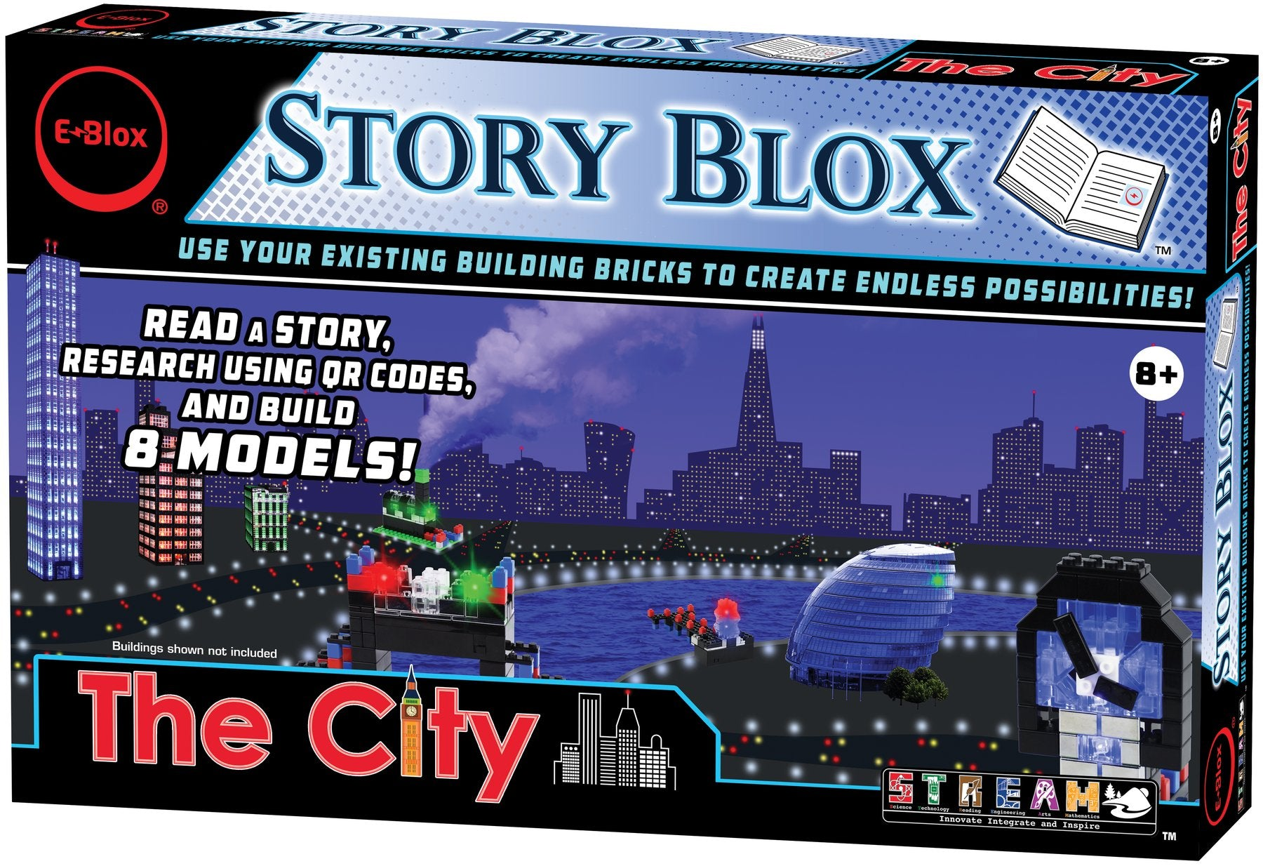 Story Blox - LED Building Blocks - The City