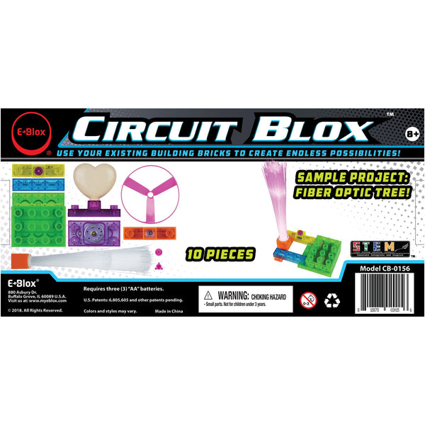 Circuit Blox 4 mini - E-Blox Circuit Board Building Kit