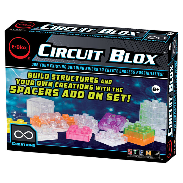 Circuit Blox Spacers 48 piece add-on set