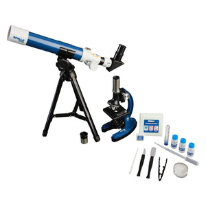 ExploreOne Apollo Telescope & Micro Microscope Set with Case