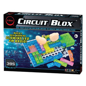 Circuit Blox 395 - E-Blox Circuit Board Building Kit