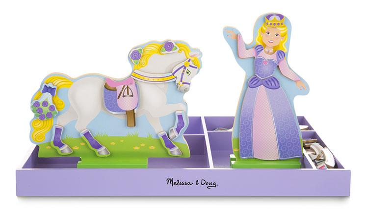 Lila & Lucky Magnetic Dress-Up Set