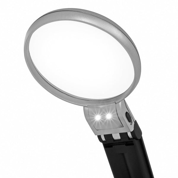 National Geographic 2.5/5x LED Magnifying Glass