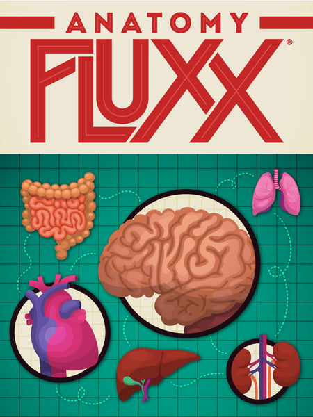 Anatomy Fluxx Game View