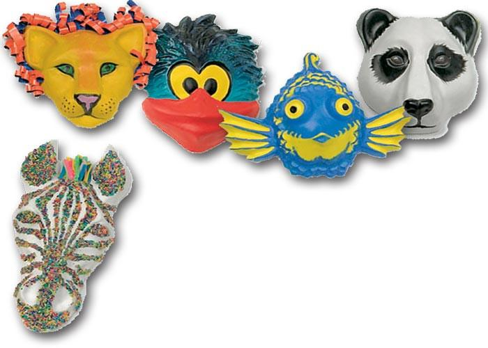 Roylco® Animal Face Forms™