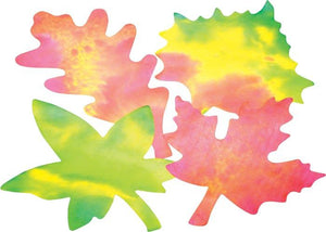 Roylco® Color Diffusing Paper Leaves