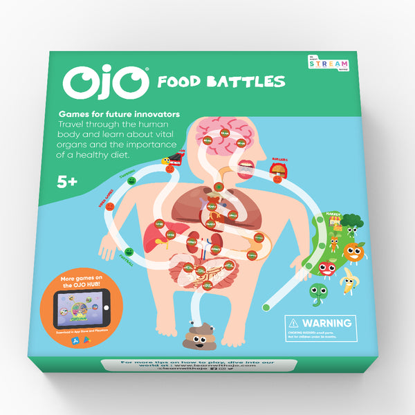 OJO Food Battles Game Picture