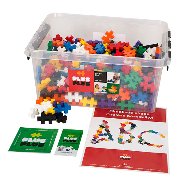 Plus-Plus - BIG 400 pc Basic in Tub