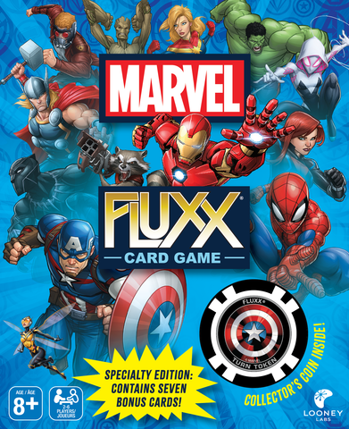 Marvel Fluxx Specialty Edition Game Picture