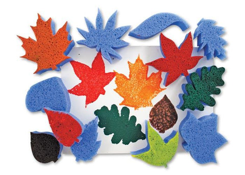 Roylco® Super Value Leaves Sponges