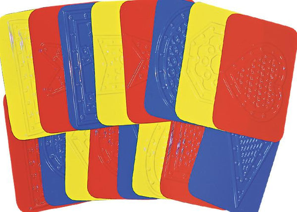 "Roylco® ""Teach Me Shapes"" Rubbing Plates"