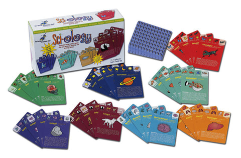 Sci-ology: an exhilarating science card game