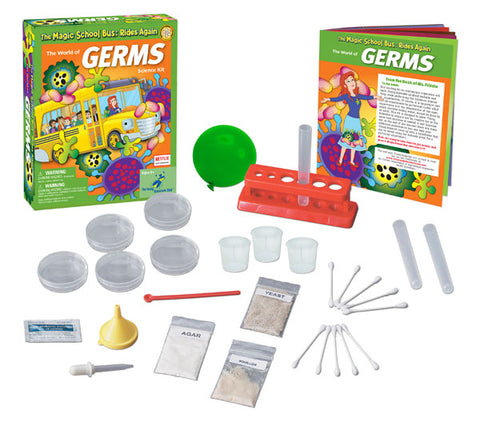 The Magic School Bus™ Kit Series:  The World of Germs