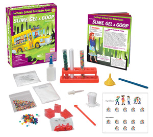 The Magic School Bus™ Kit Series:  Diving into Slime, Gel, and Goop