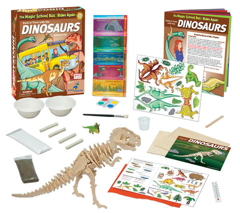 The Magic School Bus™ Kit Series:  Back in Time with the Dinosaurs