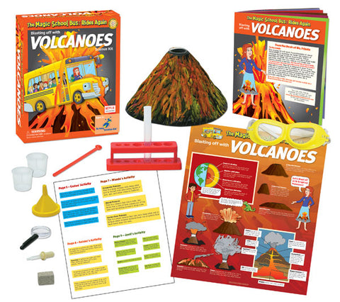 The Magic School Bus™ Kit Series:  Blasting Off with Erupting Volcanoes