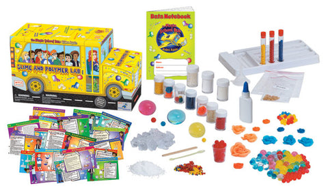 The Magic School Bus Lab™ Series:  Slime and Polymer Lab