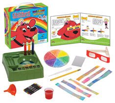 Clifford The Big Red Dog™ Science Kit Series:  Rainbow Science