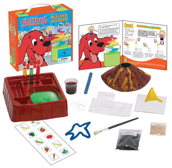 Clifford The Big Red Dog™ Science Kit Series:  Kitchen Science