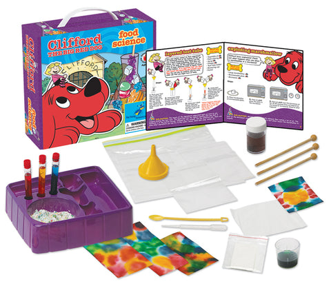 Clifford The Big Red Dog™ Science Kit Series:  Food Science