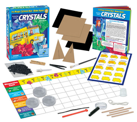 The Magic School Bus™ kit Series:  Grow Crazy Crystals
