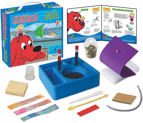 Clifford The Big Red Dog™ Science Kit Series:  Water Science