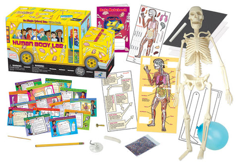 The Magic School Bus Lab™ Series:  Human Body Lab