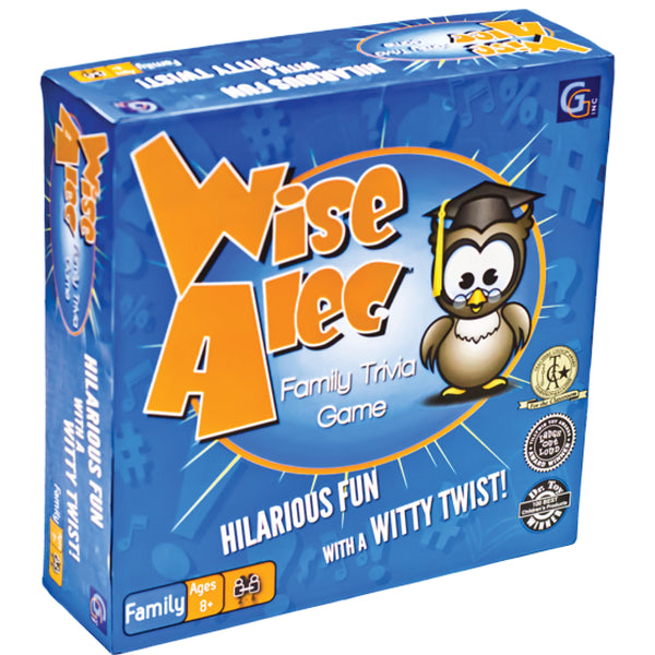 Wise Alec Family Trivia Game