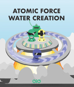 Atomic Force Water Creation Front View