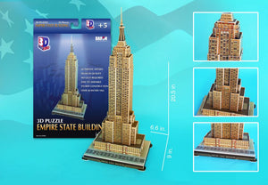 Empire State Building 3D Puzzle