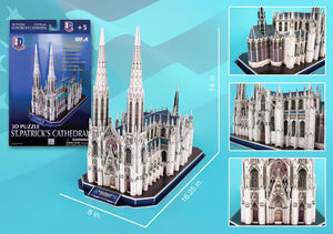 ST Patrick's Cathedral 3D Puzzle