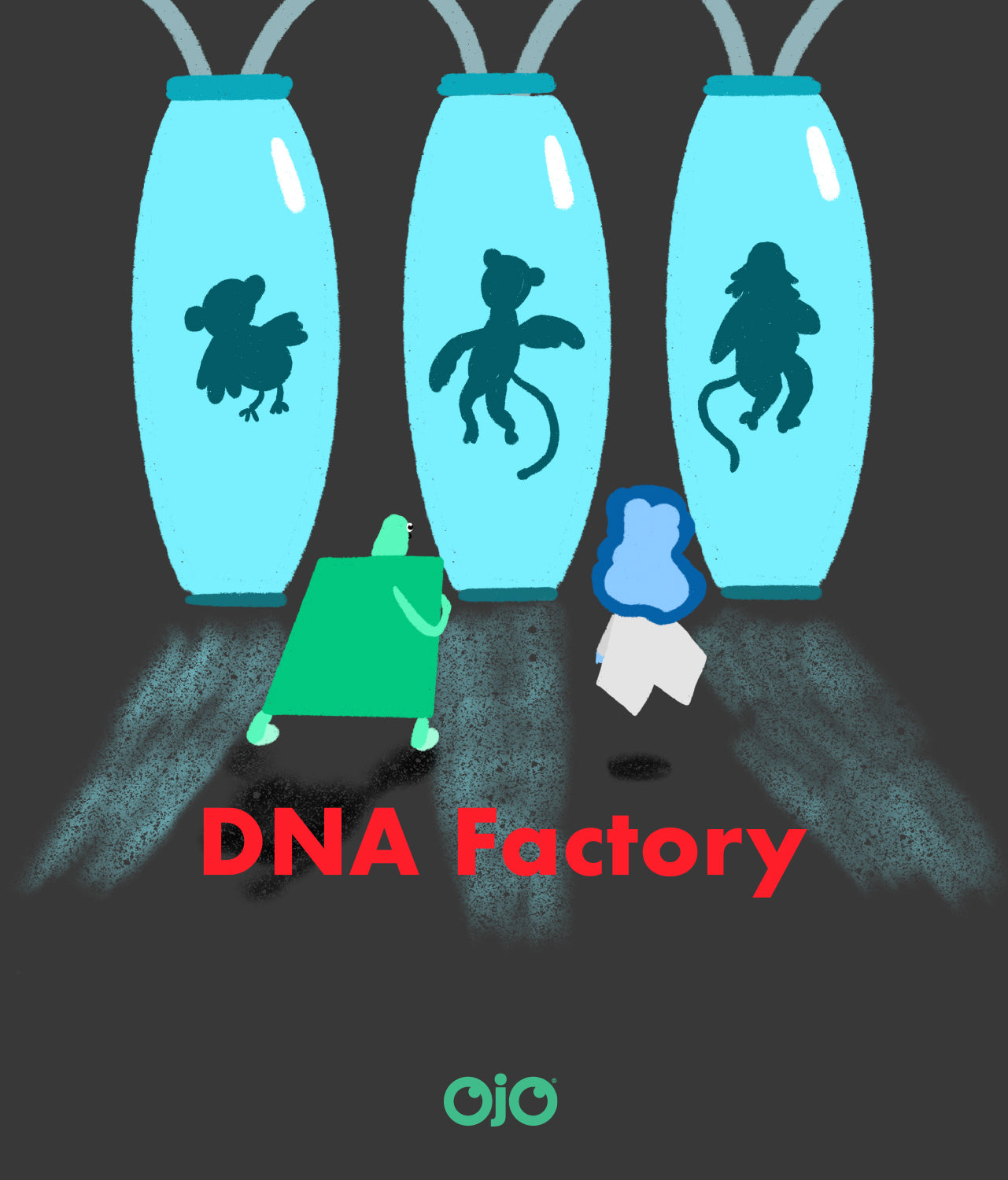 OJO DNA Factory Book Picture