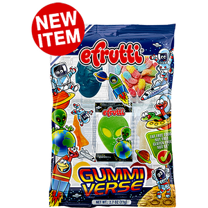 Gummi Verse Space Gummi Candy 12 bag case