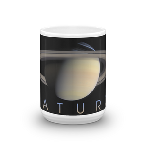 Planet Saturn Coffee Mug