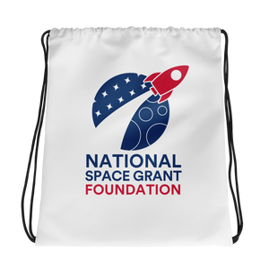 National Space Grant Foundation Drawstring Bag