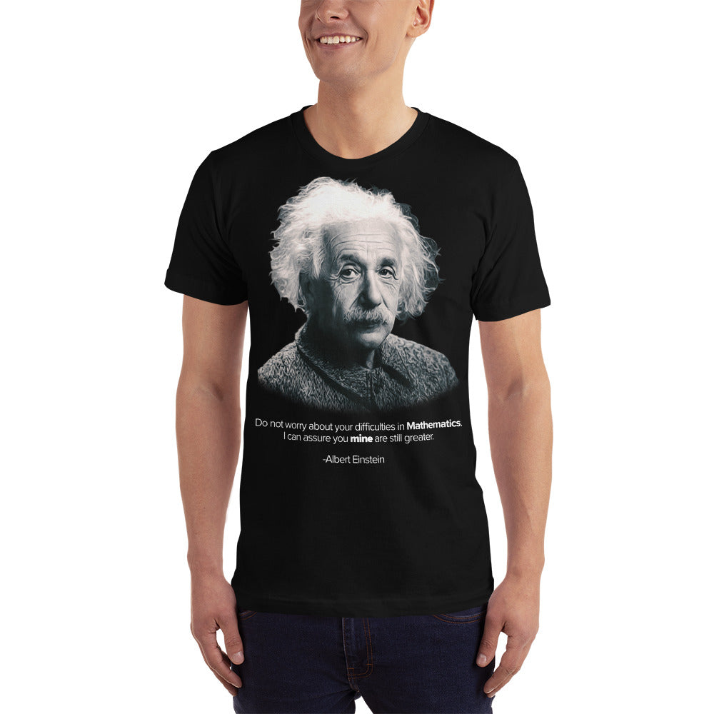 Albert Einstein Theory of Mathematics Unisex T-shirt