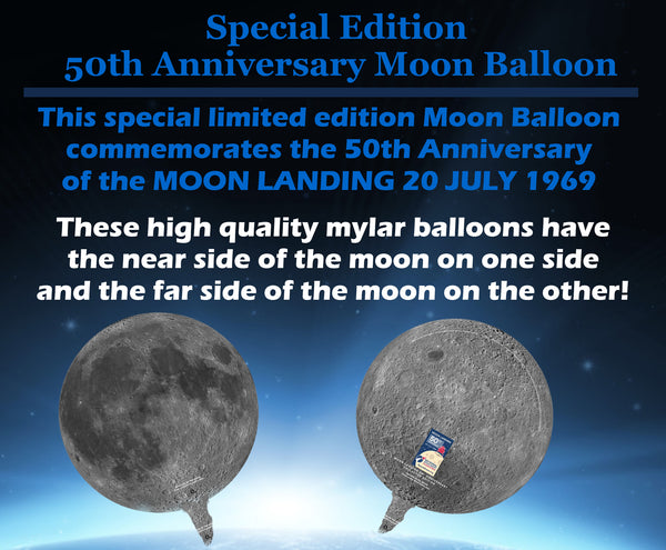 Collector Edition 50th Anniversary Moon Balloon