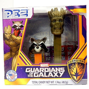Guardians of the Galaxy set from Pez
