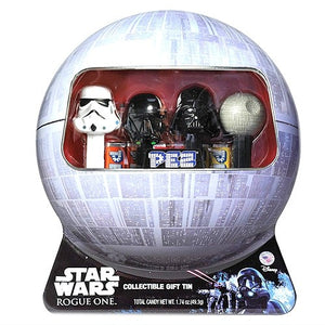 Star Wars Rogue One Pez Gift Tin with Death Trooper Pez