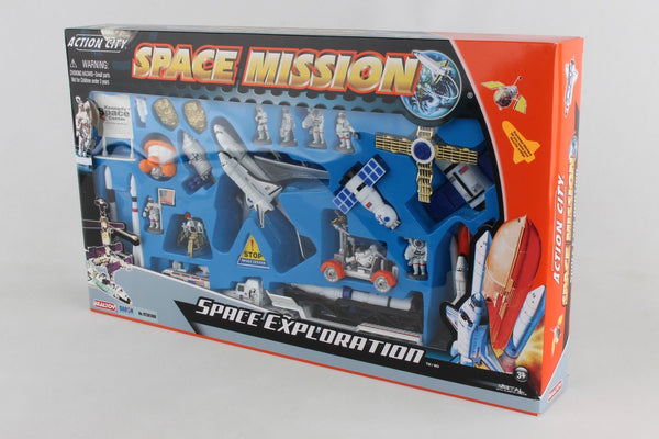 Space Mission Playset with Kennedy Space Center Sign