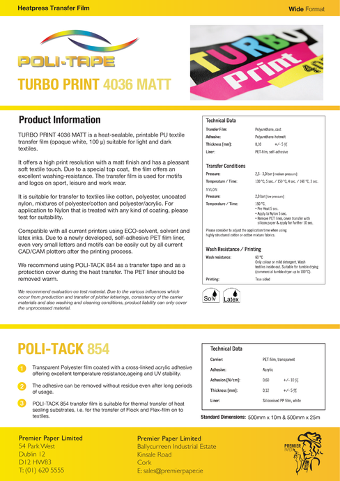 POLI-PRINT Turbo Print 4036 Matt