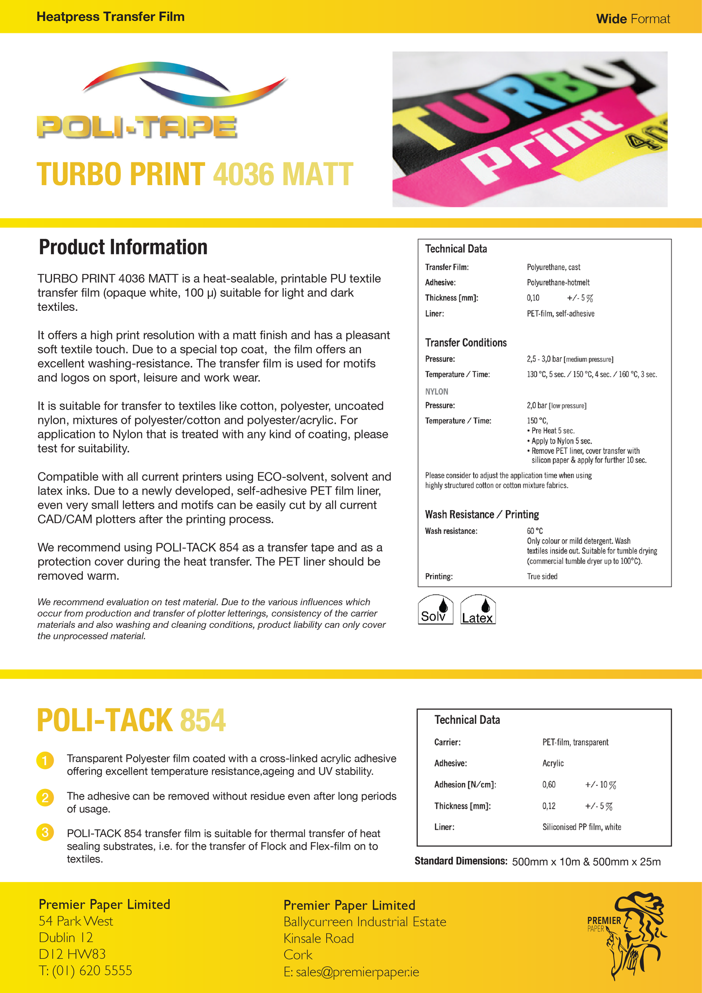 POLI-TAPE Turbo Print