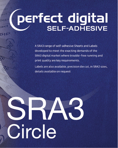 Circular SRA3 Die Cut Labels