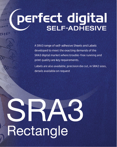 Rectangle SRA3 Die Cut Labels