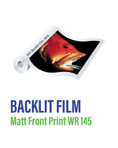 SIHL - Backlit Matt Front Print WR 145 Film