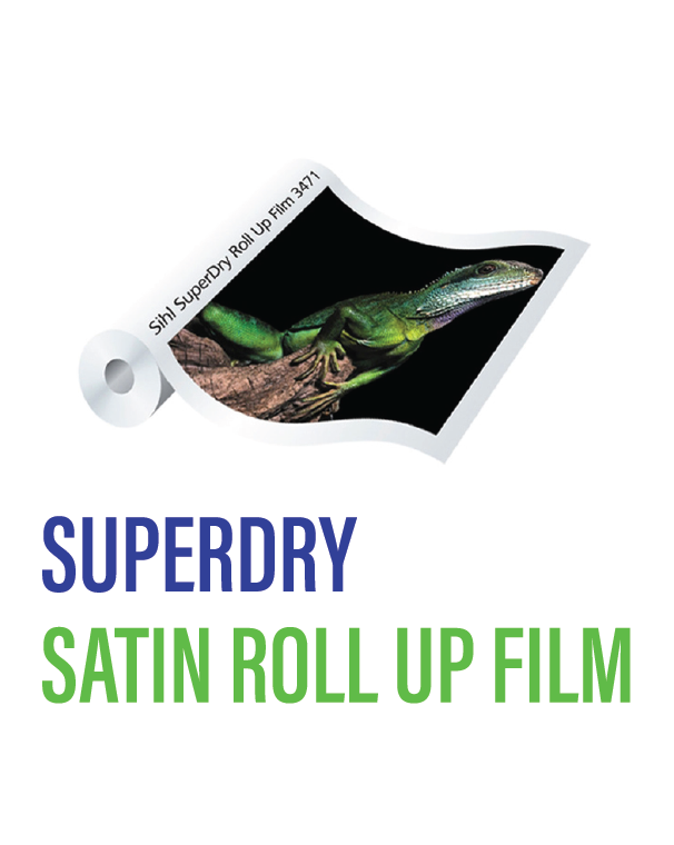 SIHL - Superdry Satin Roll-Up Film