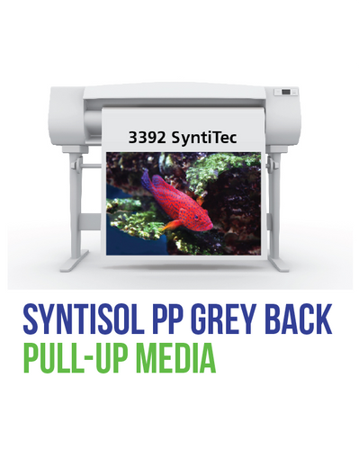 SIHL - SyntiSOL PP Grey Back Pull Up Media