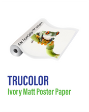 Load image into Gallery viewer, SIHL - Trucolor Ivory Matt Poster Paper